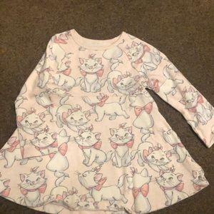 Baby Gap Disney's Marie Long Sleeved Dress 2T